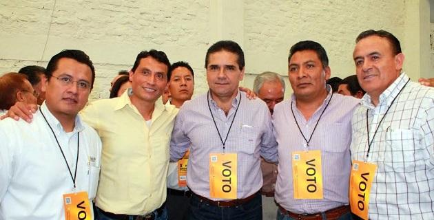Aureoles Conejo se dijo convencido de que el PRD se encuentra, sin discusión, en un buen momento, lo que se refleja en la buena aceptación lograda entre la población