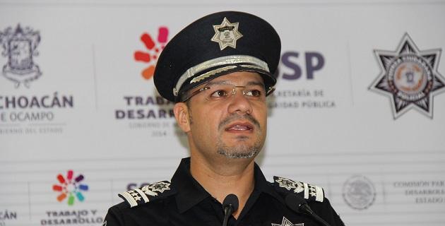 Castellanos Becerra anunció la puesta en marcha de la Dirección de Asuntos Internos de la SSP