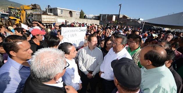 Serán beneficiados los vecinos de las colonias El Lago I, Gertrudis Sánchez, Getrudis Sánchez IV Etapa y Valle de los Manantiales