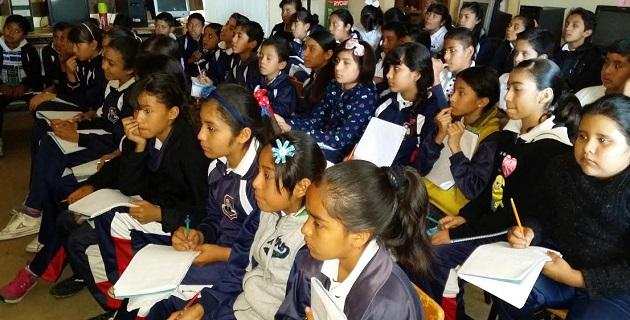 Estas acciones son parte del Programa de Prevención de la Violencia en la Convivencia Escolar