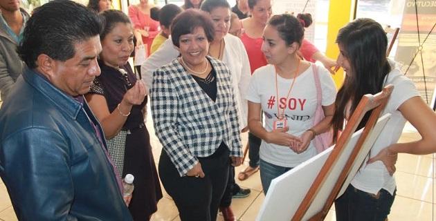 Las autoridades municipales y educativas se declararon a favor de erradicar la violencia contra las mujeres y niñas.