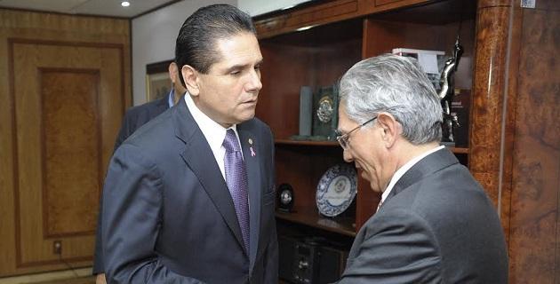 Aureoles Conejo, se dijo congratulado de que finalmente se haya escuchado el reiterado llamado que hizo desde diversos foros para que le fueran presentados estos documentos e incluirlos en la negociación del Presupuesto