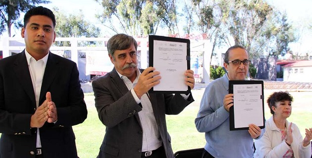 Con la firma del convenio se aseguró que los trabajadores que hagan uso de este recurso no podrán endeudarse más de lo debido
