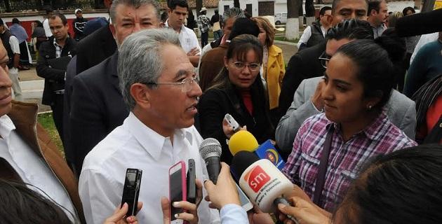"""El gobernador reiteró el llamado a dejar atrás las confrontaciones en Michoacán, tanto en la esfera pública como en la privada, puesto que """"la escalada de violencia empieza en casa"""""""