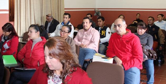 En este contexto, se impartió el Curso-taller en materia oral mercantil, para abogados postulantes, Delegación Maravatío