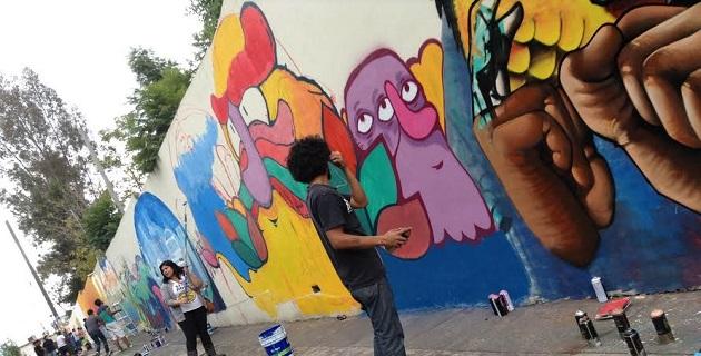 Se logró reunir a artistas urbanos de las colonias Infonavit La Colina, Ventura Puente, Trincheras de Morelia, Colinas del Sur, Independencia y Niño Artillero