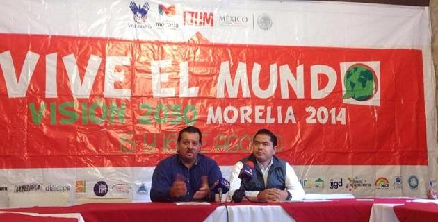 Pablo Sánchez Silva, director del Instituto de la Juventud Moreliana, celebró la formación de talleres para el desarrollo de competencias interculturales y liderazgo internacional