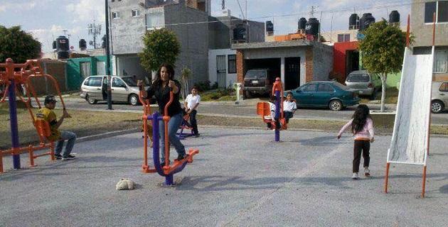 Sánchez Silva precisó que, con los gimnasios al aire libre, se beneficia primordialmente a los habitantes de las colonias de los polígonos considerados con alta incidencia delictiva