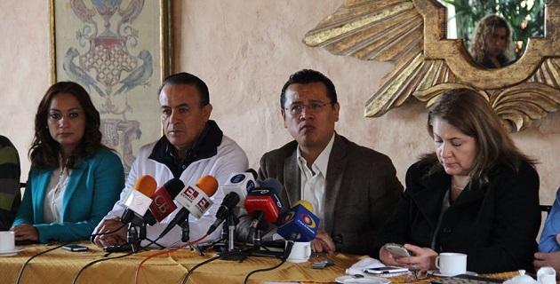 Espera el PRD que la estrategia de seguridad brinde sus primeros frutos en Michoacán en el próximo año; exhorta a los otros partidos a presentar propuestas para construir y restablecer el Estado de Derecho en la entidad