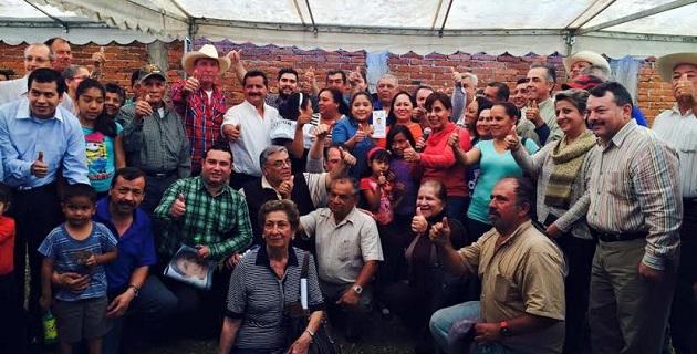 La demanda más continua que hacen los michoacanos es la de formular una estrategia integral para los jóvenes, señaló Calderón Hinojosa