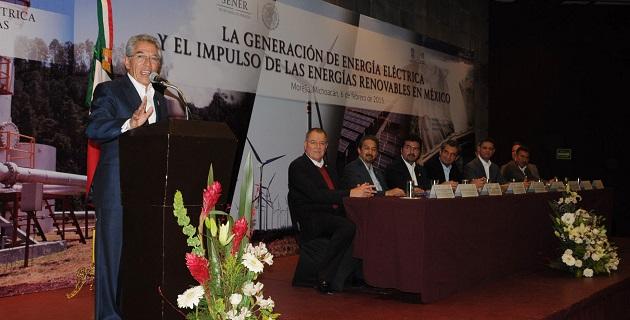 El gobernador Salvador Jara clausura el ciclo de conferencias organizado por la Secretaría de Energía, la CFE y el gobierno estatal