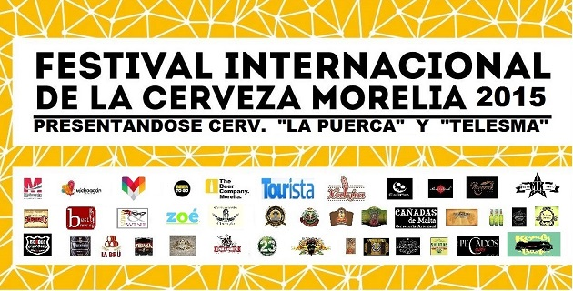 Ya viene una vez más la fiesta de la cerveza más importante del estado de Michoacán