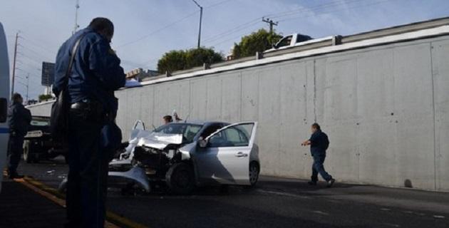 El accidente ocurrió alrededor de las 08:30 horas de este domingo, en el mencionado camino (FOTO: EL DESPERTAR)