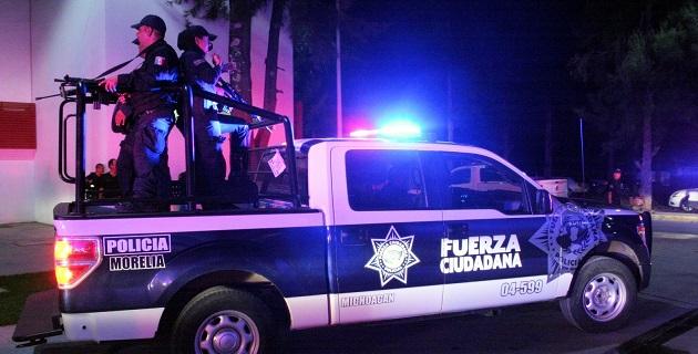 Los detenidos fueron puestos ante el agente del Ministerio Público del Centro de Operaciones Especiales de la Procuraduría General de Justicia de Michoacán