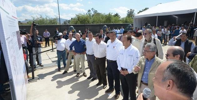 """La entrega del cárcamo de bombeo """"Las Higueras"""", es parte del programa federal de Protección a Centros de Población (PCP), que ayudará a minimizar los efectos negativos de las precipitaciones pluviales"""