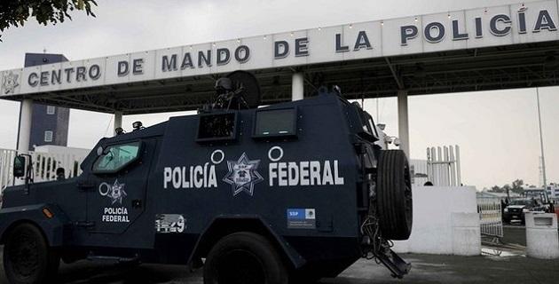 Esto no significa que no haya sido puesto a disposición de la PGR, ya que cabe recordar en el Centro de Mando hay un área especial de detención con celdas vigiladas las 24 horas