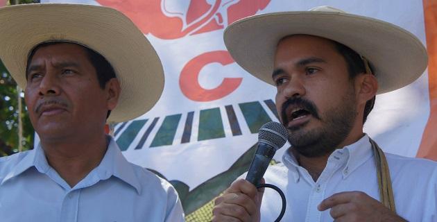 Líderes sociales fueron recibidos por el secretario de Gobierno de Michoacán, Jaime Esparza Cortina