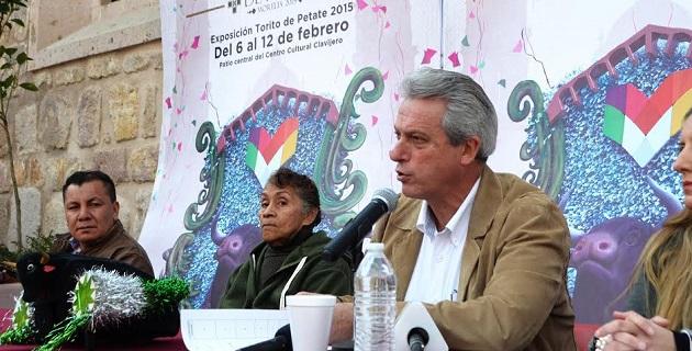 El secretario de Turismo municipal, Enrique Rivera Ruiz, anunció que 100 toritos de petate vestirán de color al Centro Histórico, encabezados por las tradicionales comparsas y bandas de viento