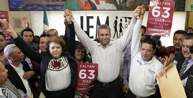 ¡Faltan 63 días para sacar a los corruptos!: Ramírez Bedolla