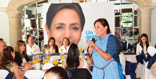En el marco del Día Internacional de la Salud, Calderón Hinojosa fue acompañada por liderazgos como Margarita Zavala, Sergio Benítez, Joanna Moreno, Francisco Morelos y Julio César González