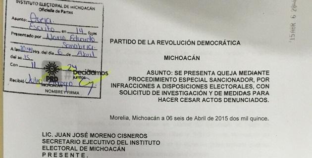 Mecino Morales destacó que el PRI no cumple con las reglas electorales, y por ende es poco probable que su candidato sea un gobernante honesto