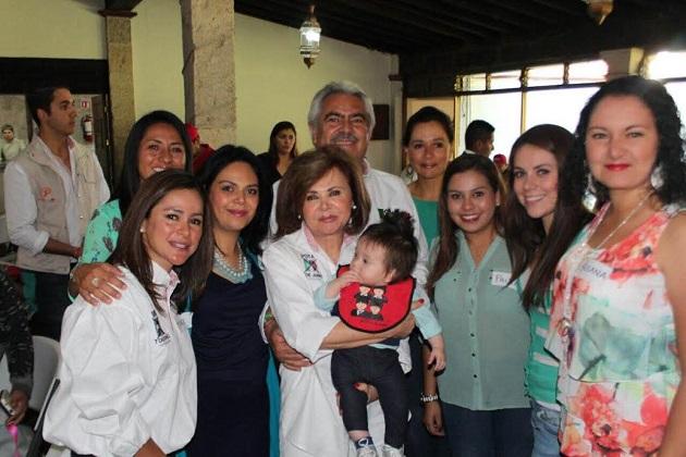 Orihuela Bárcenas se comprometió a dar continuidad a las reformas que se han impulsado a través del Presidente de la República