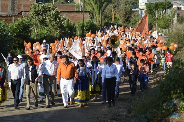 Manuel Antúnez, al continuar con sus actividades proselitistas, visitó los municipios de Tzintzuntzan y Quiroga, presentó sus propuestas de gobierno, basadas en la austeridad, congruencia