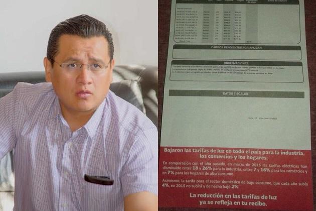 Se presentará una queja ante los órganos electorales por romper la equidad en la contienda e hizo un llamado al director general de la CFE en Michoacán, Enrique Ochoa Reza, a respetar los tiempos electorales