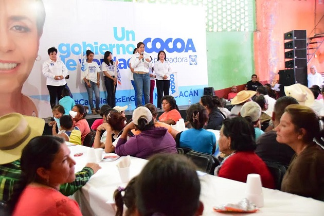 Propone 'Cocoa' dar mayor impulso al campo en Queréndaro
