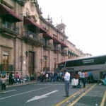 Los desaparecidos de Ayotzinapa, la reforma educativa, las plazas automáticas y el desistimiento de 48 procesos penales contra normalistas que quemaron autobuses, los pretextos