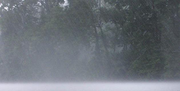 Se pronostica lluvia muy fuerte en Veracruz, Tabasco, Oaxaca y Chiapas