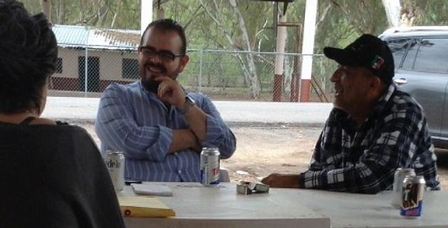La titular de la PGR, Arely Gómez, explicó que Vallejo Mora fue detenido acusado del posible delito de delincuencia organizada