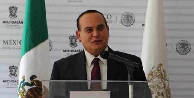 El mandatario michoacano se dijo satisfecho con los avances logrados en esa dependencia en tan breve tiempo, tomando en cuenta el gran deterioro institucional que se tenía