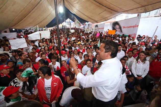 El PRI ha sido respetuoso y propositivo durante toda la campaña, presentando las mejores propuestas que contribuyan al desarrollo de la capital del estado: Oseguera Méndez