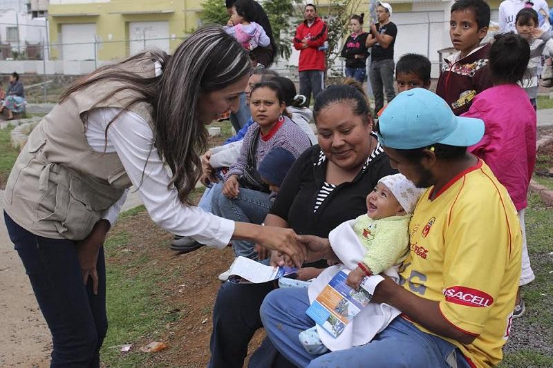 Rubí Rangel comentó que espera el voto favorecedor de la ciudadanía el próximo domingo, además pidió el apoyo por Cocoa Calderón como gobernadora de Michoacán, por Nacho Alvarado como presidente municipal de Morelia