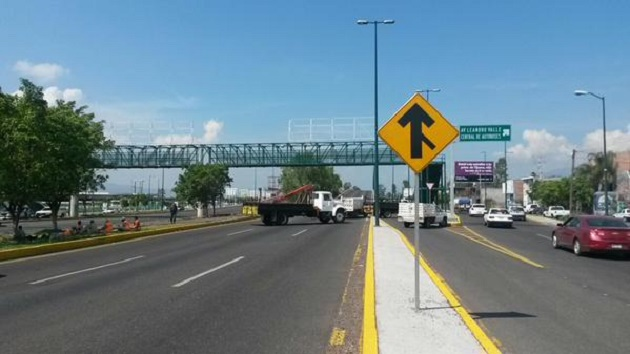 Se recomienda a los automovilistas evitar transitar por la zona en la medida de lo posible y tomar las debidas precauciones (FOTO: EXENI MORELIA)