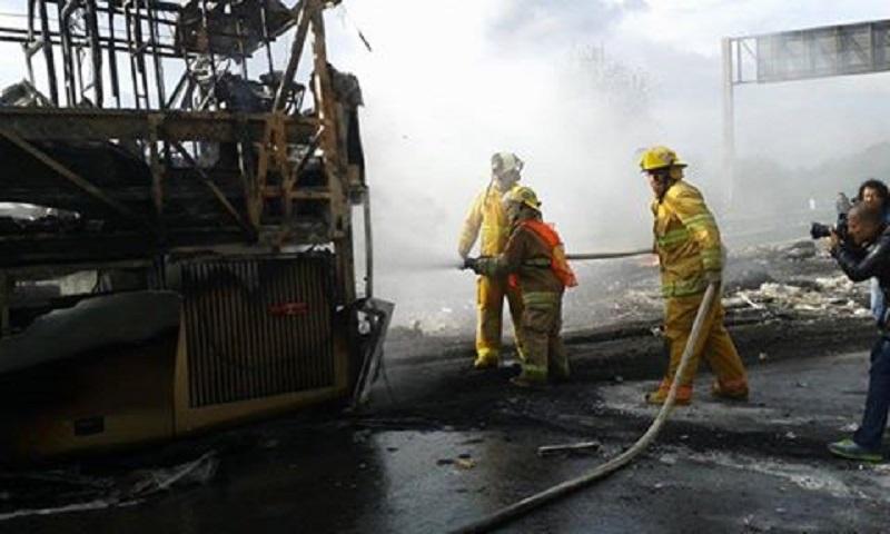 Sobre este incidente, en el lugar no se reportan lesionados y se evalúan las pérdidas materiales, dicen autoridades estatales