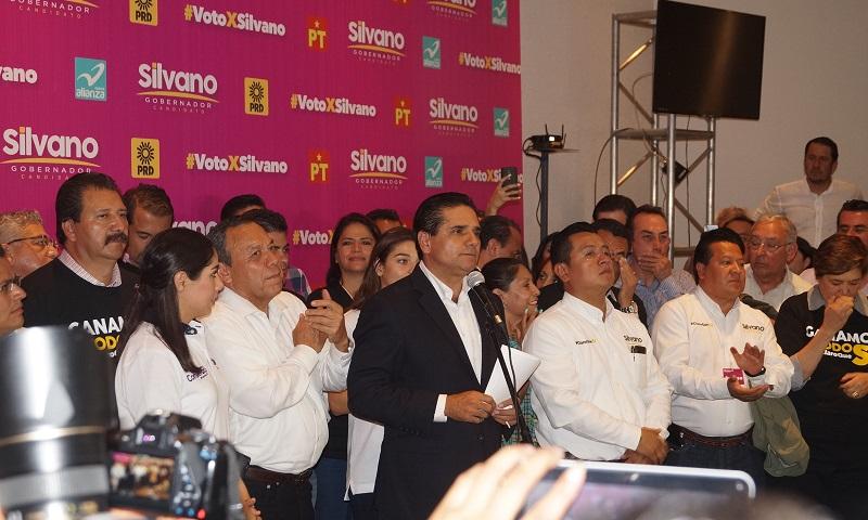 Aureoles Conejo hizo un llamado a las michoacanas y los michoacanos a la reconciliación, e iniciar una nueva etapa, sin la confrontación ya, de las campañas
