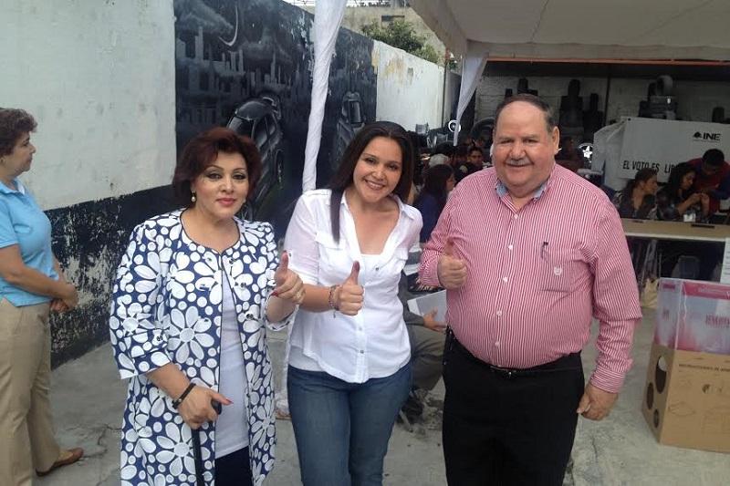 Nelly Sastré Gasca es candidata común del PRI y del PVEM a diputada local