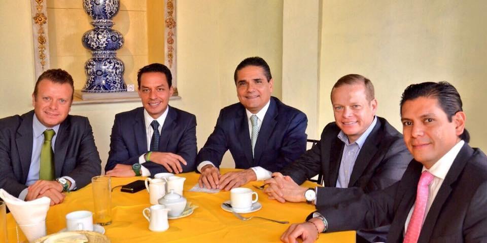 En el encuentro también estuvo presente el ex candidato a diputado local por Morelia Noroeste, Juan Carlos Vega