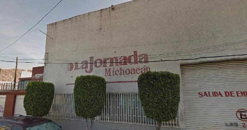 Desde este 4 de enero, trabajadores de La Jornada Michoacán resguardaron los bienes de la empresa ante el temor de que sean sustraídos por los directivos y ello impida que se les pague