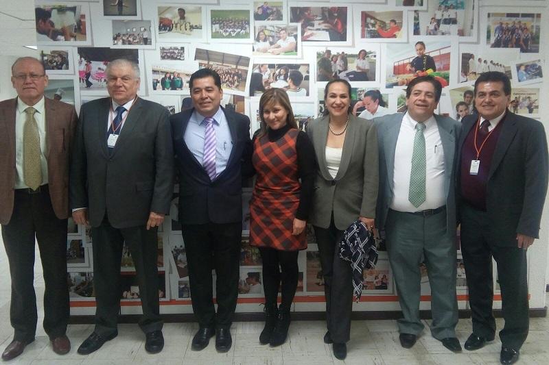 Escobedo Pérez, se reunió con la Coordinadora Nacional de Organismos Descentralizados Estatales de Colegios de Estudios Científicos y Tecnológicos, Sayonara Vargas Rodríguez