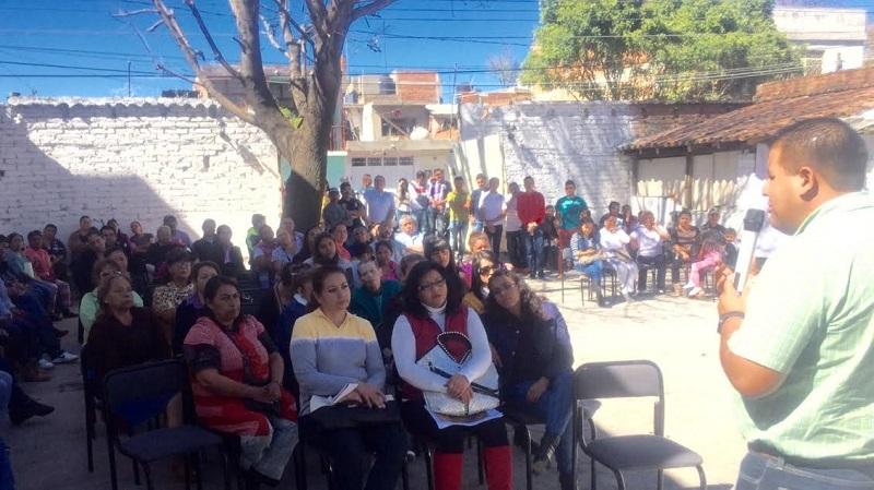 Puebla Arévalo celebró la gran participación ciudadana en el proyecto que tiene como fin generar una mayor relación entre representante popular y representado