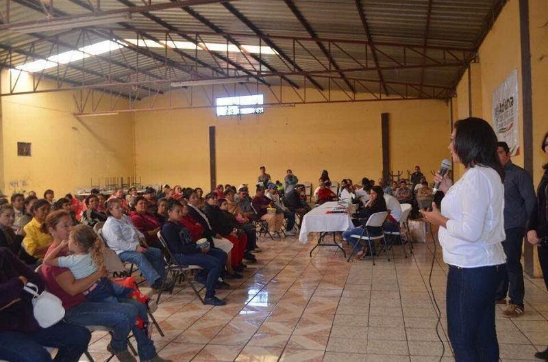El trabajo legislativo no es sólo de escritorio: Campos Huirache