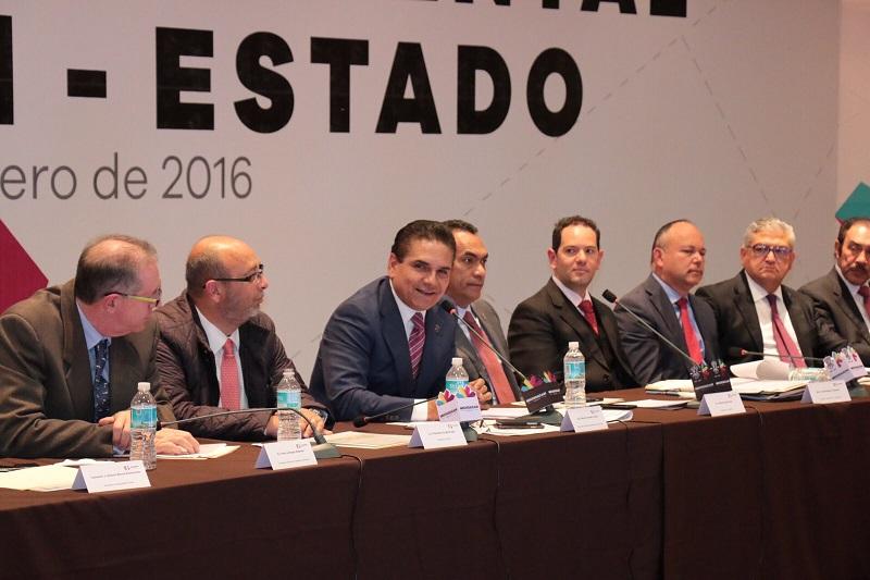 Aureoles Conejo ratificó su convicción de sumar y fortalecer la coordinación entre los tres niveles de gobierno en beneficio de las y los michoacanos