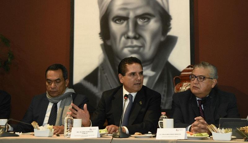 Aureoles Conejo recalcó que la visita de Su Santidad representa una magnífica oportunidad para reposicionar al estado de Michoacán en el contexto nacional e internacional, y como lo ha dicho en días recientes