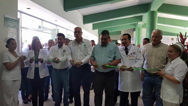 El HR No.46 de Coalcomán del IMSS Prospera, festejo su 21 aniversario con la remodelación de sus instalaciones