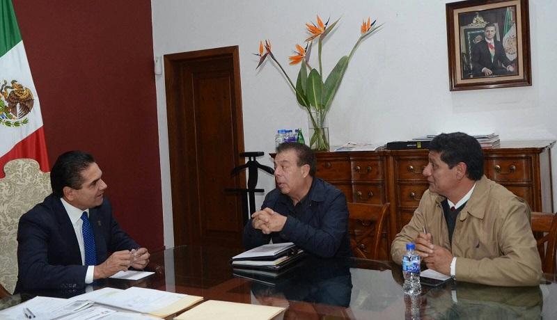 Aureoles Conejo manifestó su deseo de firmar en próximas fechas un convenio marco mediante el cual el Gobierno del Estado apoyará con 3 millones de pesos al Consejo