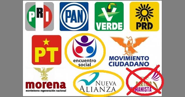 Nos quedan ni más ni menos que ¡ocho partidos políticos qué mantener! De veras… ¿necesitamos tantos?