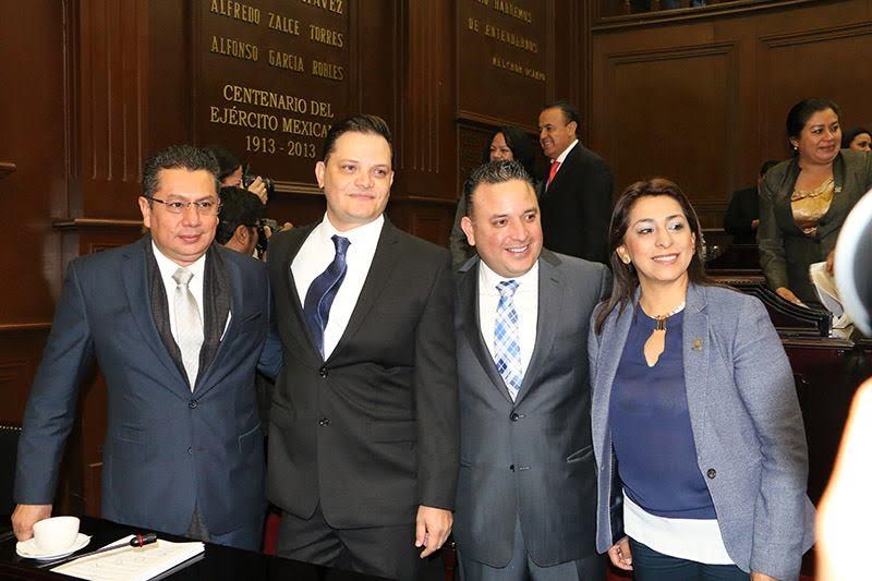 Reitera grupo parlamentario del blanquiazul disposición para buscar mejores mecanismos para reparar las finanzas del estado